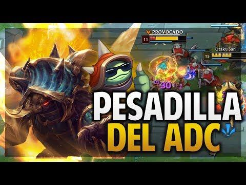 ¡LA PESADILLA DE UN ADC! | RAMMUS JUNGLA | League of Legends