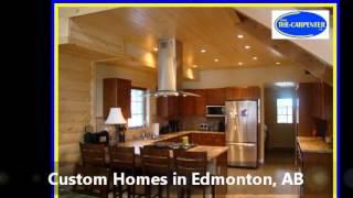Custom Homes Edmonton Ab, The Carpenter Edmonton Ltd.