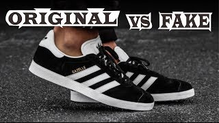 Adidas Gazelle Original & Fake