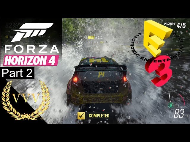 Forza Horizon 4 Gameplay Part 2 E3 2018