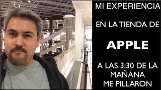 Iphone 6(seis) mi maestría en la tienda Apple, Me PILLARON