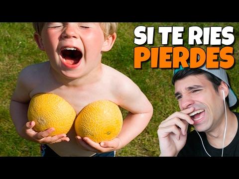 SI TE RIES PIERDES | FAILS DE NIÑOS | Videos de Risa 2017 & Fails Compilation