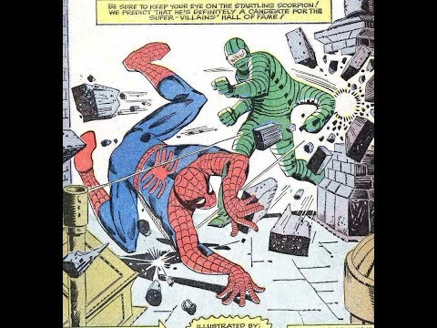 Spider-Man 1967 Cartoon Audio With Art From The Original Comic Book By Steve Ditko