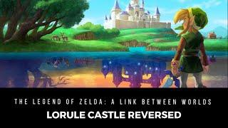 Repeat youtube video Lorule Castle Reversed (Hyrule Castle of ALttP) - The Legend of Zelda: A Link Between Worlds