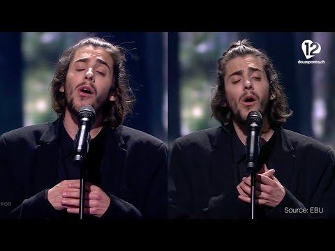 Salvador Sobral - Amar Pelos Dois (Portugal) Semi-Final 1 and Grand-Final compared, 2017 Eurovision