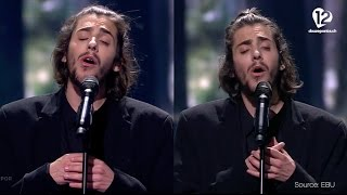 Salvador Sobral - Amar Pelos Dois (Portugal) Semi-Final 1 and Grand-Final compared, 2017 Eurovision
