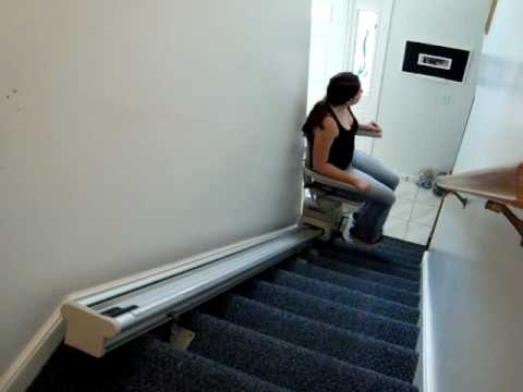 Pug On A Stairlift Chair Lift Footit Medical Supply Doovi