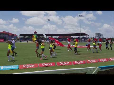 CPL: Hero Caribbean Premier League: T20 2017 Guyana Amazon Warriors VS SKNP