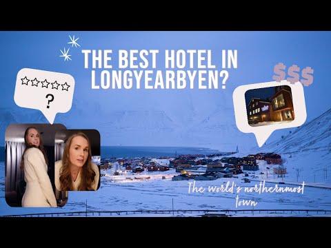 Staying in one of the best hotels in LONGYEARBYEN | Day in t