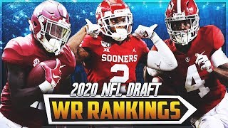 INSANE WR Class!!    2020 NFL Draft Wide Receiver Top 10 Rankings + Pro Comparisons
