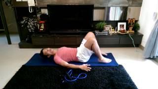 Luke教練[彈力繩,瑜珈墊] 示範初學者基礎居家運動6招