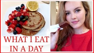 WHAT I EAT IN A DAY AT CHRISTMAS | VLOGMAS #21