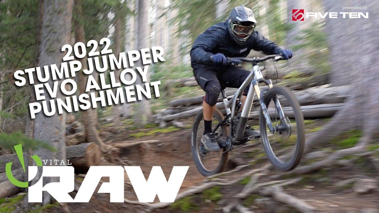 2022 STUMPJUMPER EVO ALLOY Test Laps - Vital RAW with Jonny Simonetti