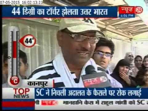 Temperature soars up in jaipur