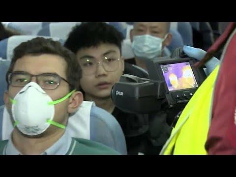 Коронавирус: усиленные меры безопасности на границе с Китаем…