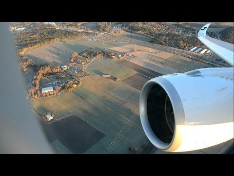 EPIC Trent XWB ROAR! Finnair A350 Sunrise Take Off from Helsinki