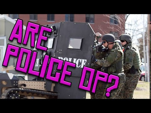 Police Militarization: SUPER ULTRA RIOT STOPPER 4000