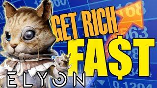ELYON - HOW TΟ FARM GOLD - MAKE 100k GOLD in 5 MINUTES 💰💰💰
