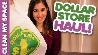 Dollar Store Organizing & Cleaning Products Haul (Clean My Space)