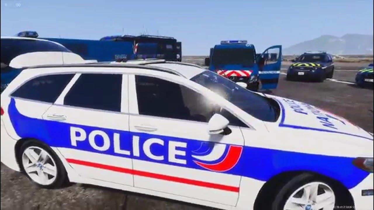 gta 5 - pack v u00e9hicules de gendarmerie nationale  police nationale  gign  police municipale