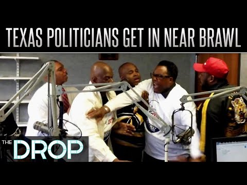 A Fight Breaks Out Inside Gospel Radio Station - The Drop Presented by ADD