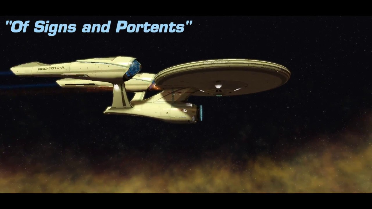 Of signs and portents new frontiers season 12 featured for Sign and portents