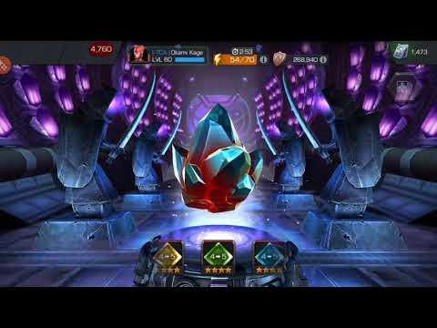 Act 5.3 Rewards - MCOC Crystal Opening