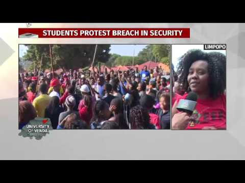 SA decides 2:  limpopo, University of Venda protests