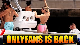 HOTTEST ONLYFANS GIRL IN MIAMI DANCE FOR US | BOAT ZONE