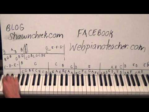 Piano Lesson - Somewhere In Time/Rhapsody On A Theme by Paganini - The 21st and 1/2 Hired Request