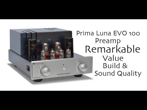 REVIEW: Prima Luna Evo 100 Preamp - YouTube