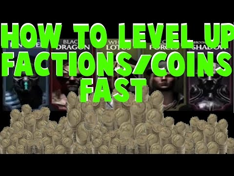 Level Up Factions & Earn Coins Fast In Mortal Kombat X