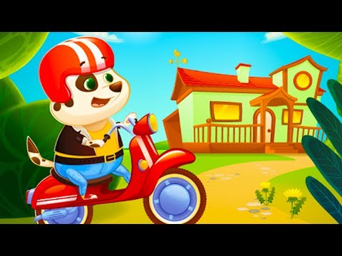 МУЛЬТИК игра ПЕСИК ДУДУ #2 виртуальный питомец видео про щенка развлекательное видео для детей #КИД