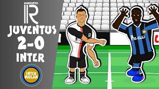Juventus 2 0 Inter Milan Parody Serie A Highlights Ramsey Dybala goal Ronaldo