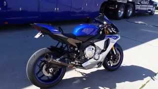 2015 Yamaha R1 - Graves Motorsports Exhaust System