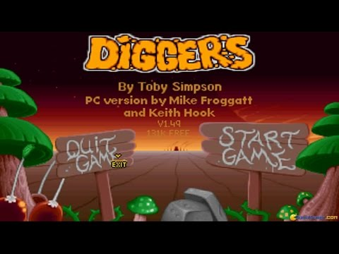 Diggers gameplay (PC Game, 1993)