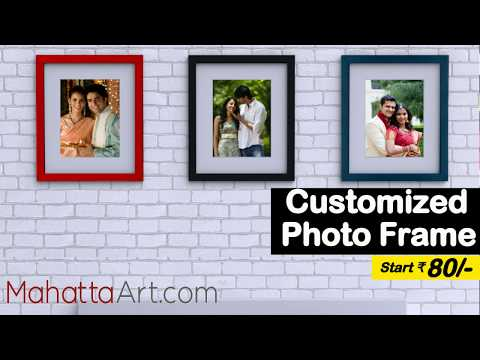 Customized Photo Frames Starting ₹80/- Only
