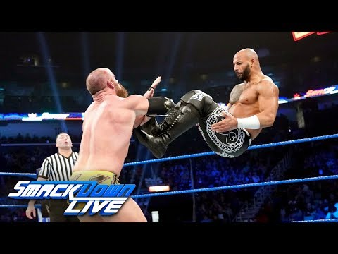 Ricochet vs. Eric Young: SmackDown LIVE, Feb. 19, 2019
