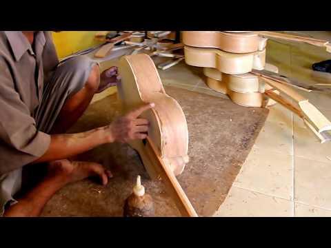 RAHASIA..!! Begini Cara Orang Solo Membuat Gitar | Dengan alat Seadanya, Jadi Gitar Luar Biasa..!!
