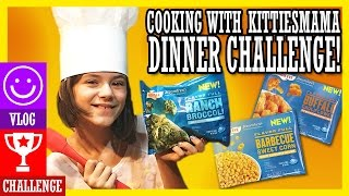 FAMILY COOK OFF!   DINNER CHALLENGE! Cooking with KITTIESMAMA!