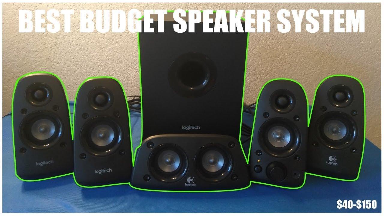 380cf703ab3 Logitech z506 5 1 Speaker Review BEST SPEAKERS ON A BUDGET!!! - YouTube