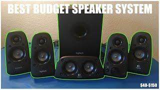 Logitech z506 5 1 Speaker Review BEST SPEAKERS ON A BUDGET!!!