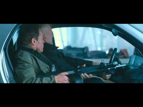 "The Expendables 2 Movie Clip ""Smart Car"" Official [HD 1080]"