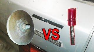 Как удалить двухсторонний скотч и клей с авто