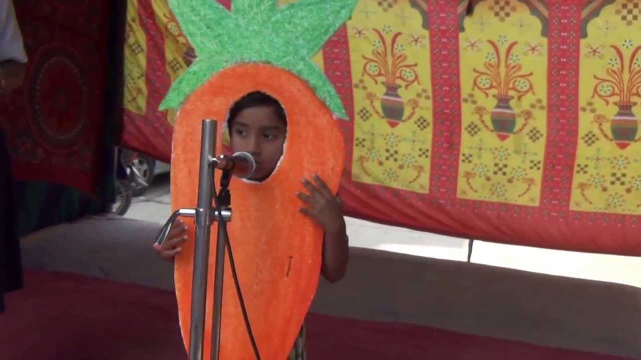 sc 1 st  YouTube & FANCY DRESS COMPETITION 2013 UKG STUDENT AS A CARROT - YouTube
