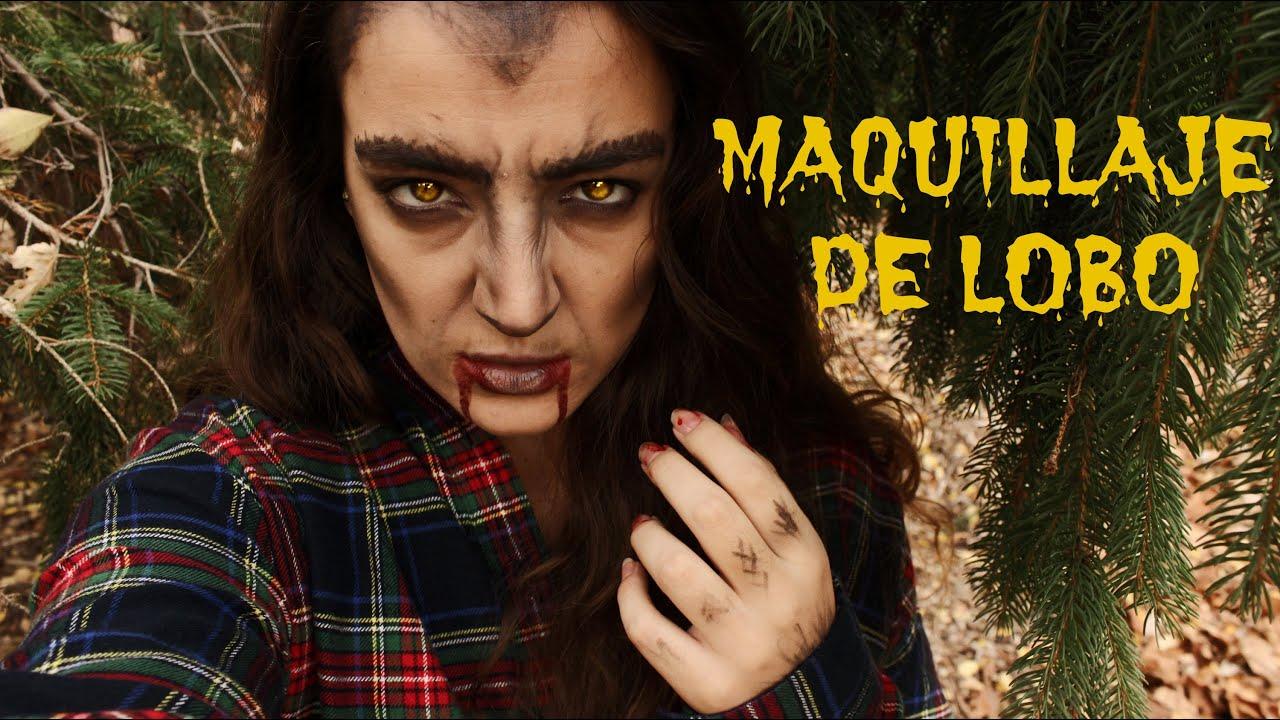 Maquillaje Hombre Lobo (MUY FÁCIL)