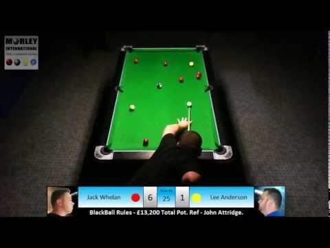 £13k MoneyMatch: Jack Whelan V Lee Anderson, BlackBall Rules.
