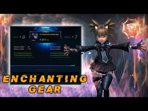 Tera Console Guide: Enchanting Your Gear
