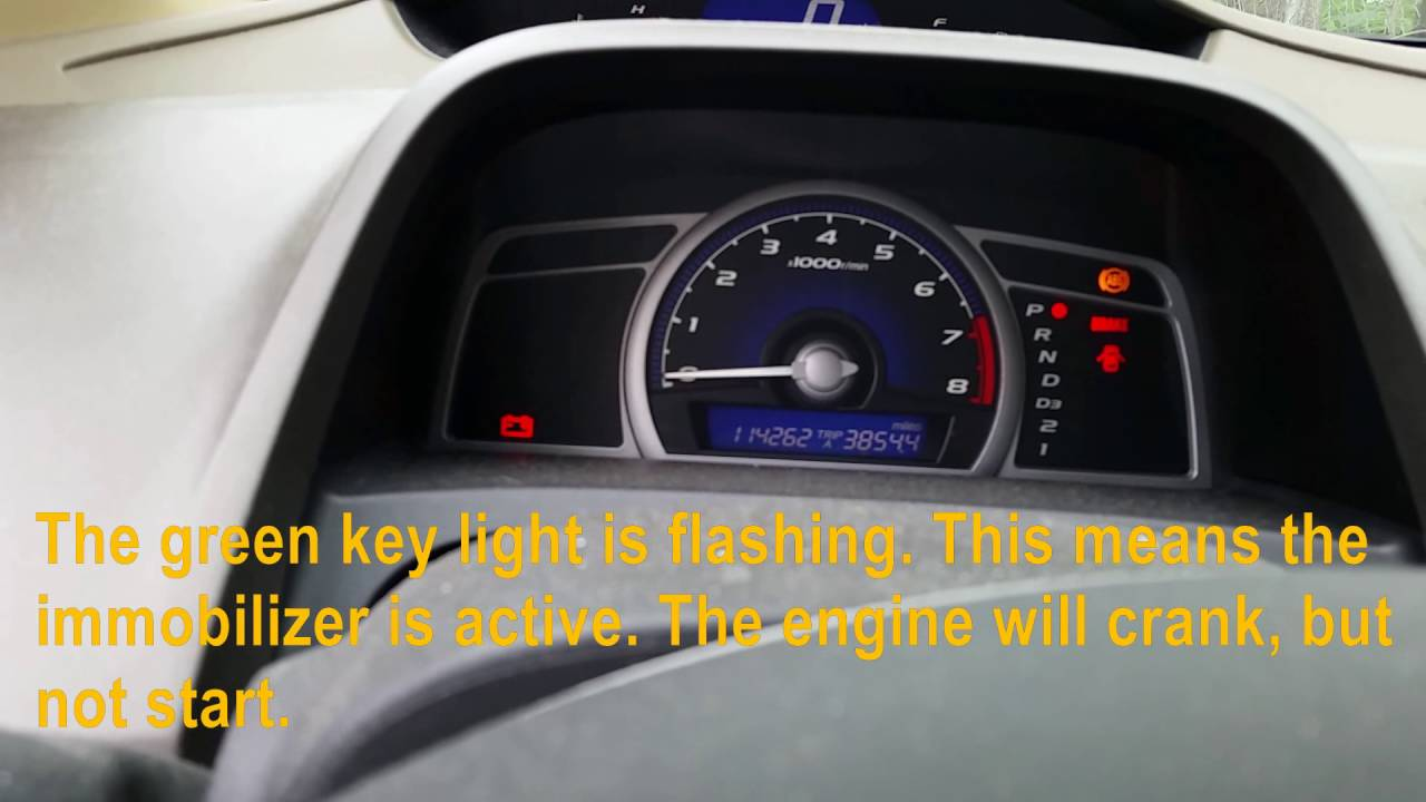 Airbag Light Flashing >> 2007 Honda Civic Hybrid Check Engine Light Flashing | Adiklight.co
