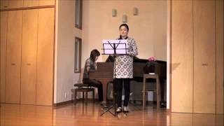 "Takashi Fujii 「清水茂の詩による3つの歌曲」より ""3 Songs on Poems b..."